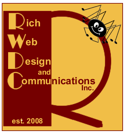 Rich Web Design And Communications Logo